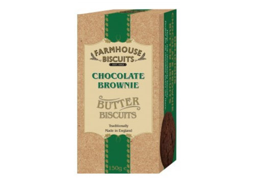 Biscuits Luxery Chocolate Brownie 150g 12st