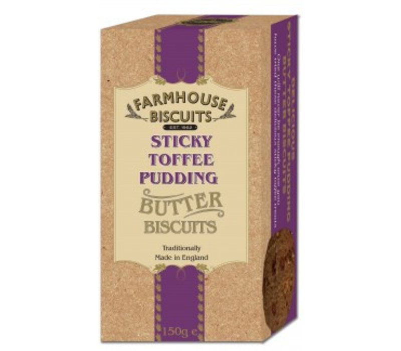 Biscuits Luxery Sticky Toffee Pudding 150g 12st