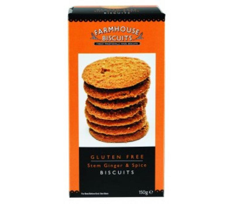 Stem Ginger biscuits 150g 12st