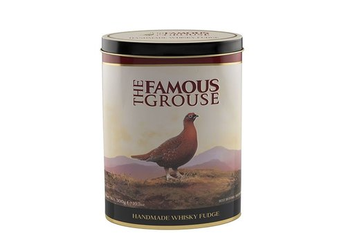 Gardiners of Scotland Famouse Grouse Fudge Tin 300g 12bl.