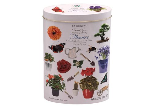 Gardiners of Scotland Thank You Flowers Tin 250g 12bl.