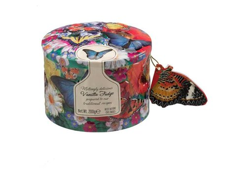 Gardiners Butterfly/Hummingbird tin ass Fudge 200g 12bl.