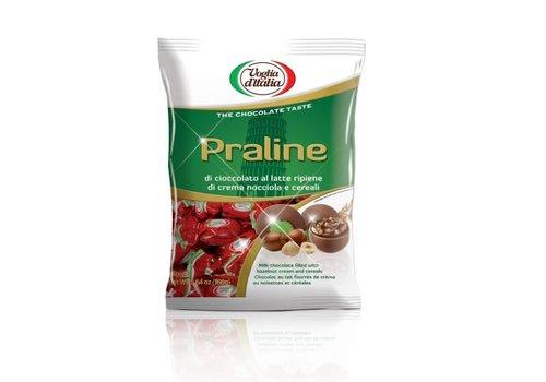 Voglia praline rood crema nocciola 160g 16st