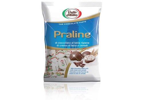 Voglia praline wit crema latte cereali 160g 16st