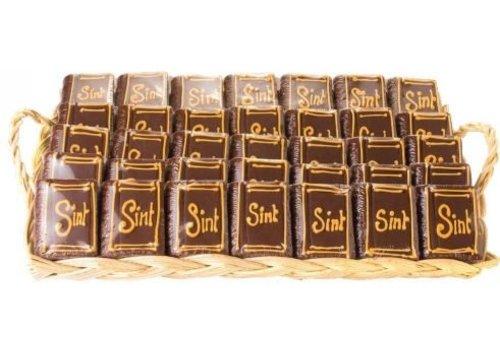 Marsepein Boekjes Sint 100g 25st