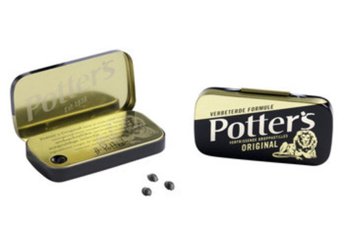 Potter's original zwart 12,5g 36st