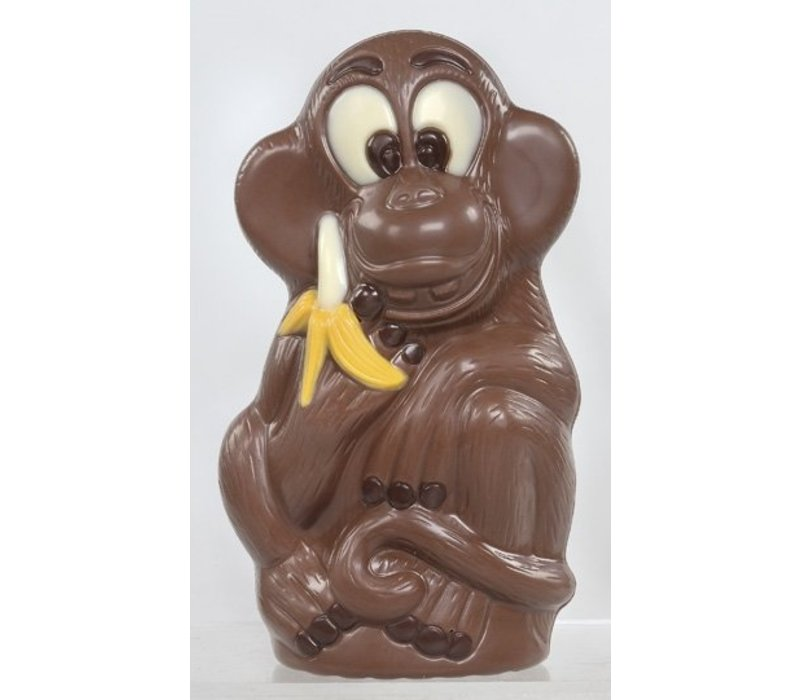 Aap banaan deco geel 13cm 90g 12st
