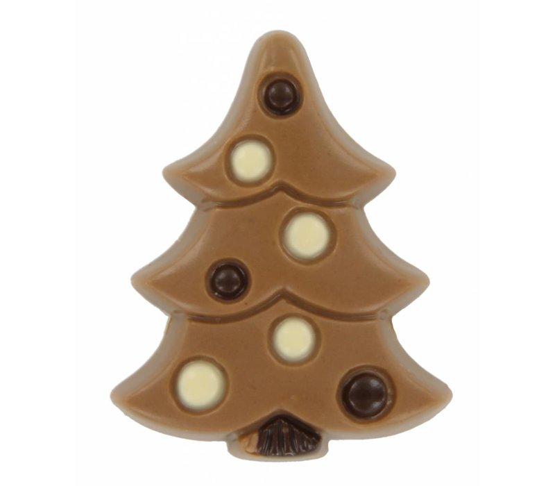 Kerstboom Karamel Zeezout melk 15g 2,16kg