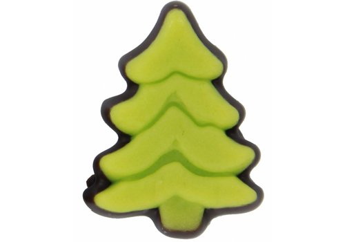 Kerstboom marsepein groen pure choc.30g 2,5kg