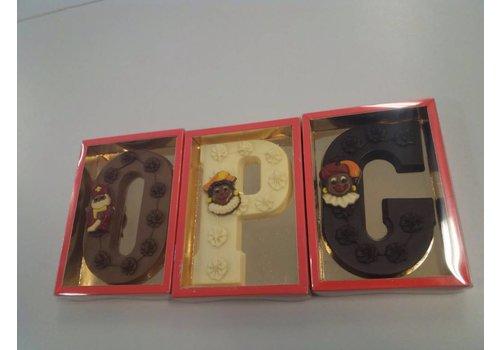 Letters deco 200g  het hele alfabet leverbaar