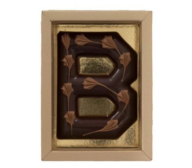 Bamboe letter puur 100g 6st
