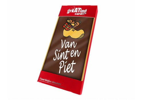 Greating Card Sint en Piet 100g 15st
