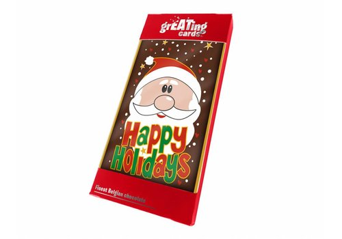 Greating Card Happy Holidays 100g 15st