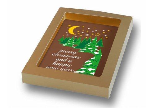 Kerstmis kaart 150g 20st
