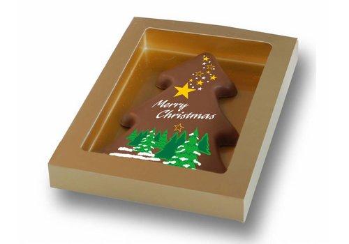 Kerstboom kaart 150g 20st