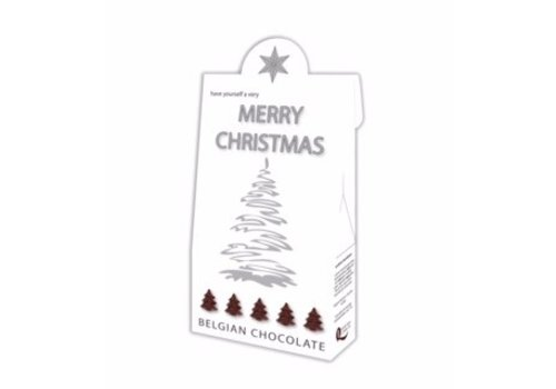 Voor Jou Merry Christmas wit 100g 6st