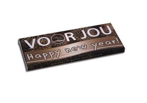 Voor Jou Happy New Year wensreep 100g 10st