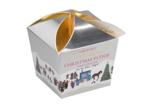 Gardiners of Scotland Christmas Fudge Vanille 250g 12bx