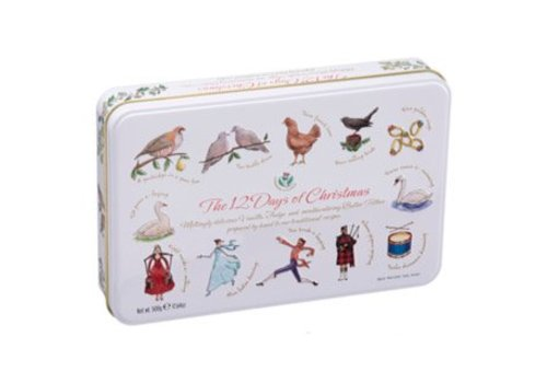 Gardiners of Scotland 12 Days of Christmas Tin 500g 6bl.