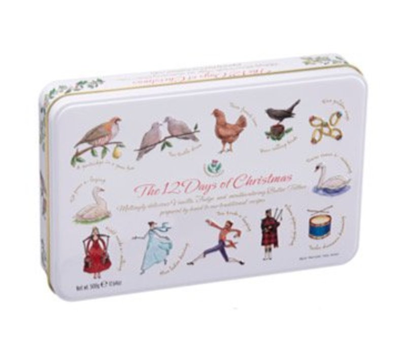 12 Days of Christmas Tin 500g 6bl.