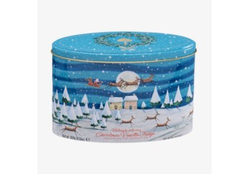 Gardiners of Scotland Xmas Night Scene Tin Vanille 300g 12bl.