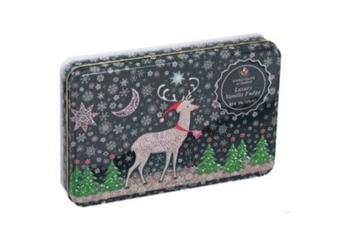 Gardiners of Scotland Reindeer Snow Tin Vanille fudge 500g 6bl.