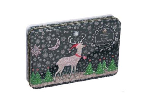 Gardiners Reindeer Snow Tin Vanille fudge 500g 6bl.