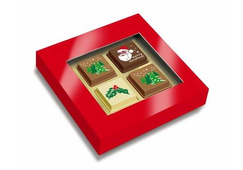 Premium Kerst bonbons 4st 65g 48ds