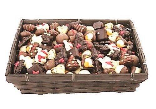 Mand Kerstchocolade gevuld ass 3kg