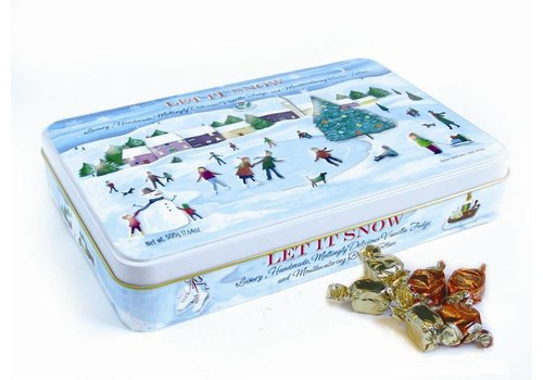 Gardiners of Scotland Christmas Skating Scene Tin 500g 6bl.