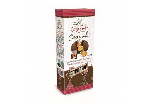 Crispo Ciocoli al Cointreau 100g 6st