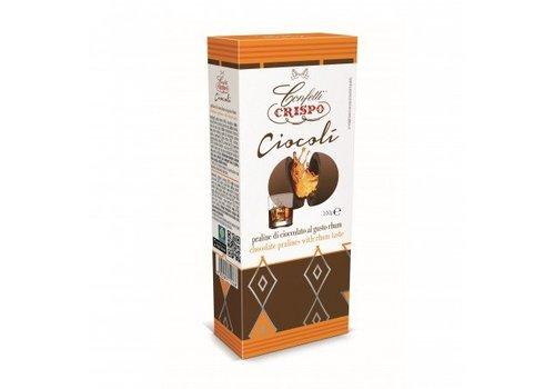 Crispo Ciocoli al Rhum 100g 6st