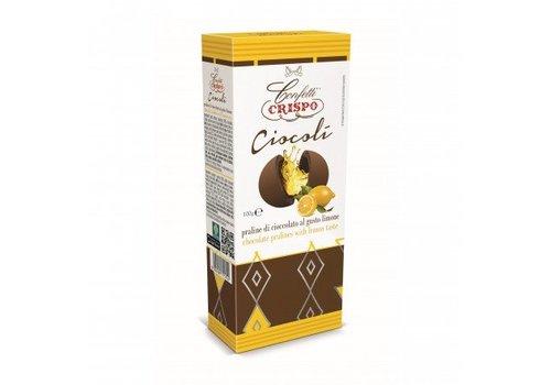 Crispo Ciocoli al Limone 100g 6st