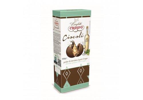 Crispo Ciocoli Grappa 100g 6st