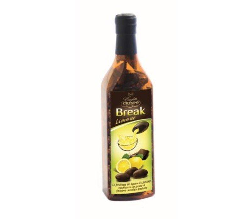 Crispo Bottiglia Break Limone 150g 6st