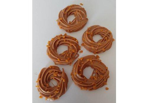 Kransjes gespoten caramel zeezout crunch 2kg