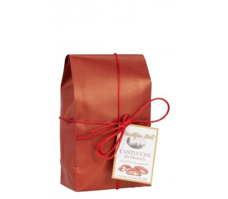 Cantuccini 25% amandel red vintage 250g 12st