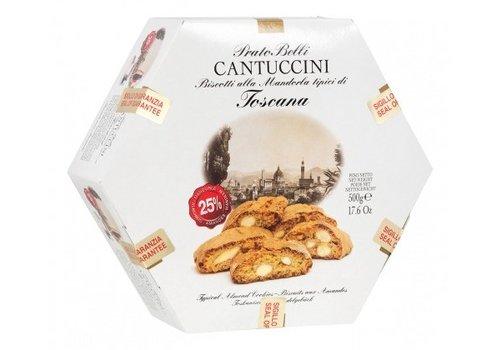 Biscottificio Belli Cantuccini esagonale 500g 6st