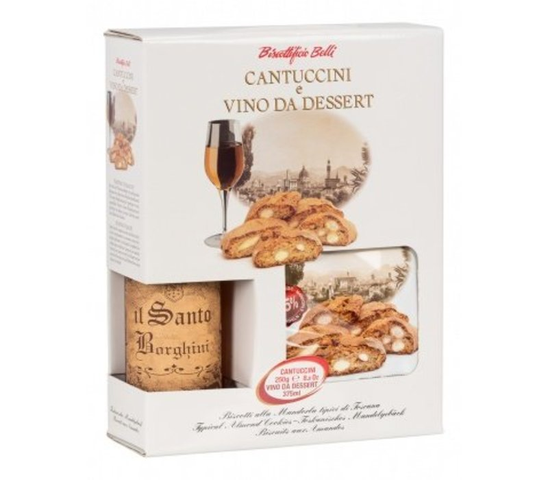 Cantuccini 250g met vin Santo 375ml 10st