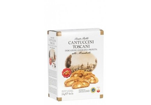 Biscottificio Belli Cantuccini 250g doos 10st