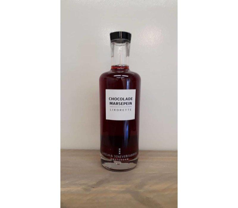 Likorette Choc.Marsepein (amandel) 50cl 14,5% 6