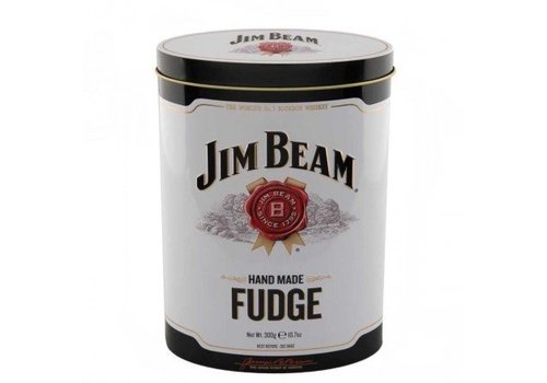 Gardiners Jim Beam Bourbon Whisky Fudge Tin 300g 12bl
