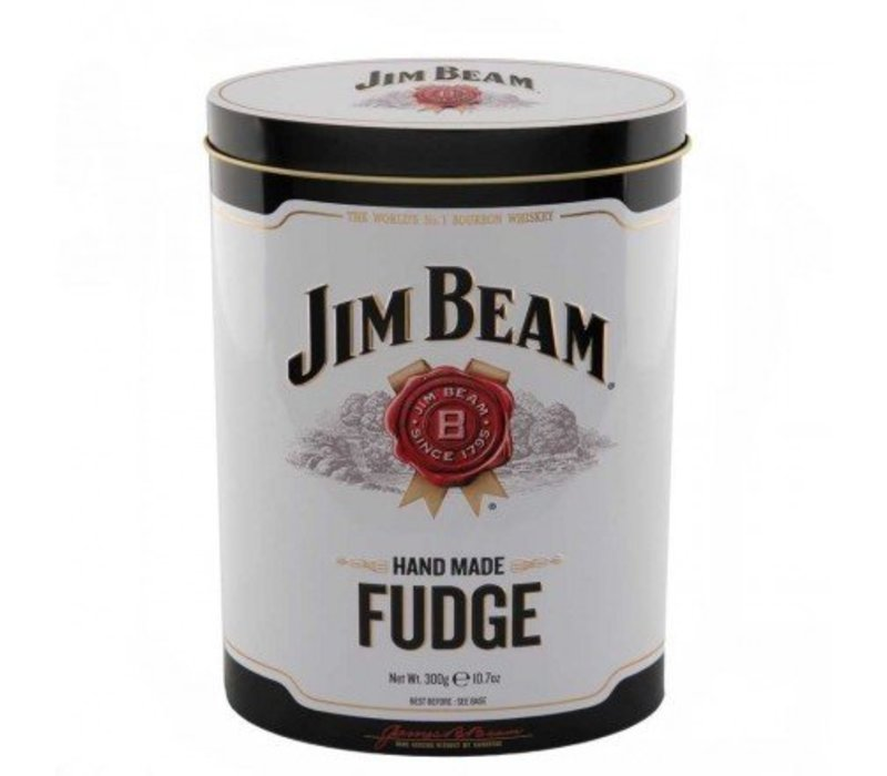 Jim Beam Bourbon Whisky Fudge Tin 300g 12bl