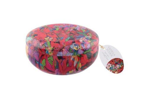 Best Blooms  Floral Tin vanille Fudge 200g 12bl