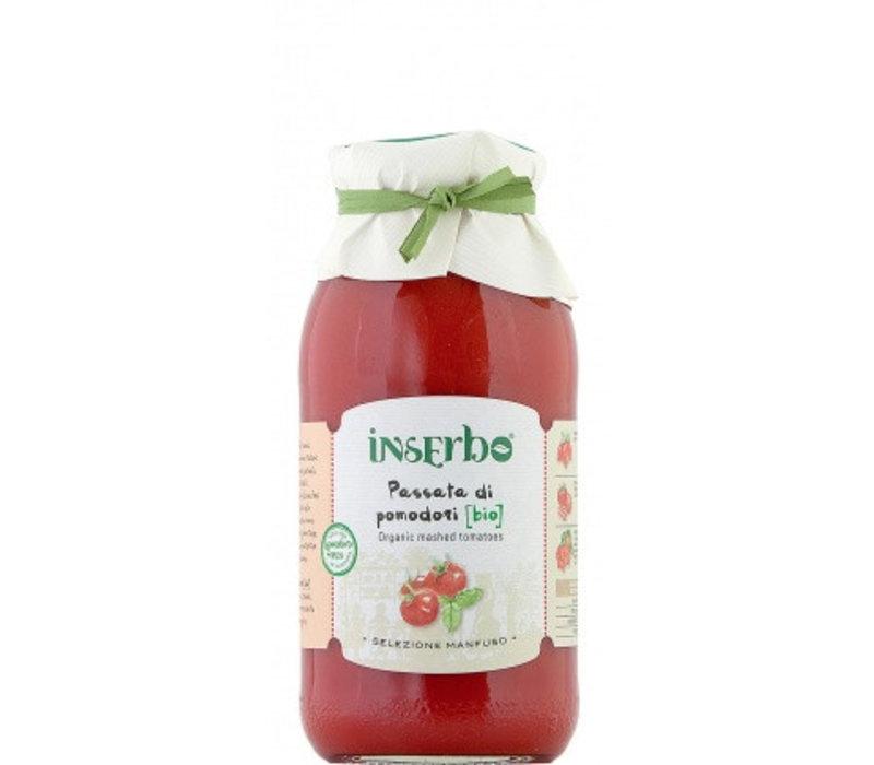 Inserbo Passata di pomodoro Bio bottiglia 500g 12st
