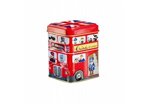 Churchill's Churchill's Mini Souvenirs Bus 50g tin 12st