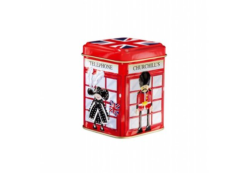 Churchill's Churchill's Mini Souvenirs Kiosk,Skyline,Bus 50g ass tin 12st