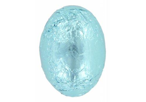 Eitjes staniol licht blauw melk  8g 3kg