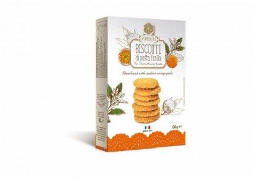 Biscotti di pasta frolla orange 90g 16st