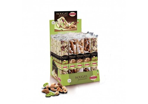 Quaranta Nougat repen Nut ass 100g 25st